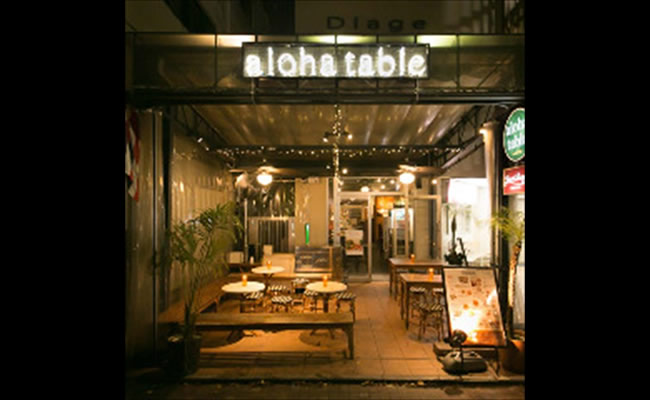 ALOHA TABLE Nakameguro>